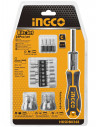 INGCO Coffret tournevis + accessoires