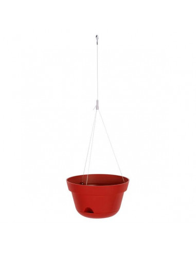 EDA Suspension Toscane 30 cm rouge rubis