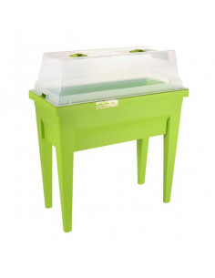 EDA Espace Veg&table™ City vert pistache +  serre de culture - 57 L