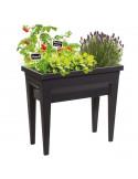EDA Espace Veg&table™ City gris anthracite +  serre de culture - 57 L