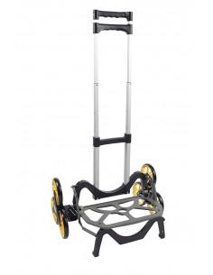 UPCART Chariot monte-escalier tout-terrain repliable à 6 roues