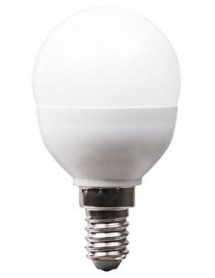 XQ-LITE Ampoule LED Globe E14 5.5W Blanc chaud
