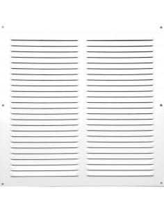 AUTOGYRE Grille d'aération en aluminium blanc 25 x 25 cm