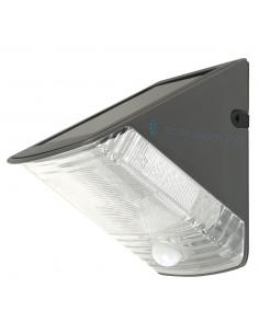 SMARTWARES Applique LED solaire avec détecteur de mouvement et crépusculaire