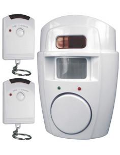 ELRO Détecteur de mouvement avec fonction alarme Incluant 2 télécommandes