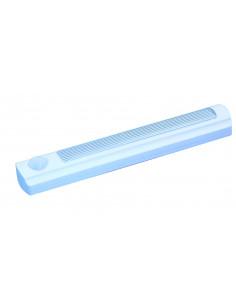 VELAMP Mini réglette SMARTY LED avec détecteur de mouvement, Plastique, Blanc