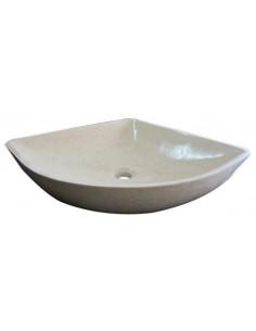 Vasque en pierre 60x40x15 cm