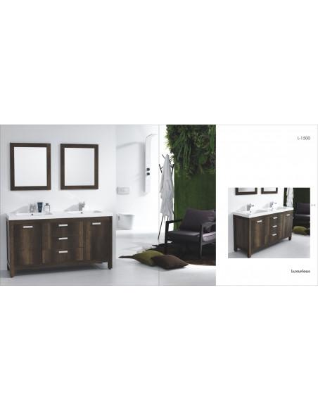 Ensemble de meubles de salle de bain double vasques