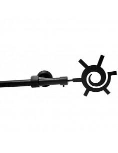 MOBOIS Kit tringle d16 ext 120/210 gris