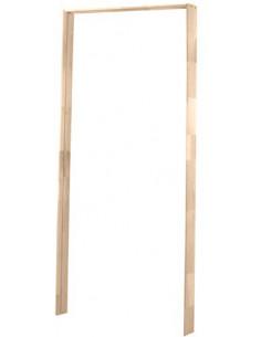 Bati de porte en bois exotique 2x223m + 1x1m