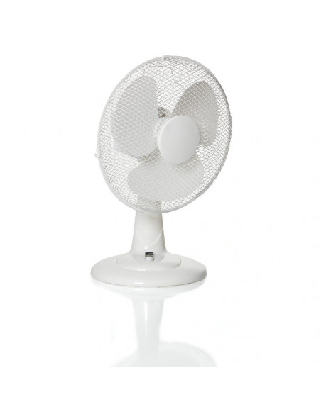 HOMDAY Ventilateur de table plastique 40 W 30 cm