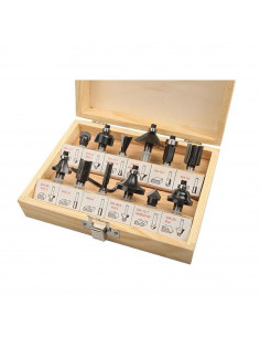 TOLSEN Coffret carbure 12pcs