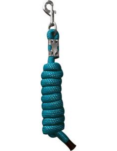 EKKIA Longe réfléchissante turquoise 2m