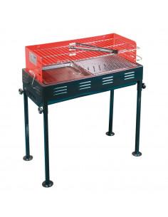 FORNORD Barbecue à charbon 65 x 30 x 80 cm