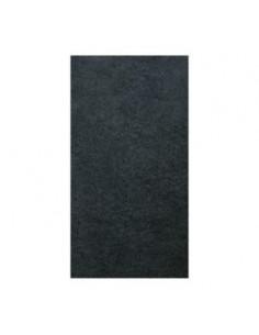 LE CROCHET FRANCAIS Plaque adhésive 10x20cm noire x1