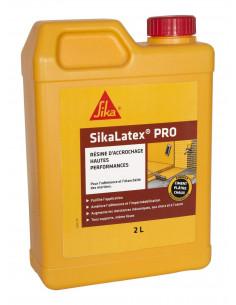 SIKA SIKALATEX® PRO Résine d'accrochage concentrée pour adhérence et étanchéité mortier - 2L