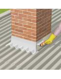 SIKA SIKALASTIC® COLOR Revêtement d'imperméabilisation pour toitures-terrasses et couvertures en tôles - 20kg - Blanc