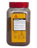 SIKA SIKACEM® COLOR Colorant en poudre pour ciment, chaux et plâtre - 700g - Brun