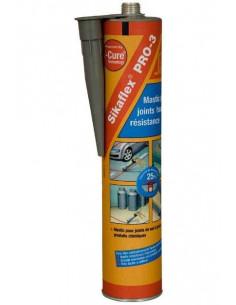 SIKA SIKAFLEX® PRO-3 Mastic pour joints de sols - 300ml - gris béton