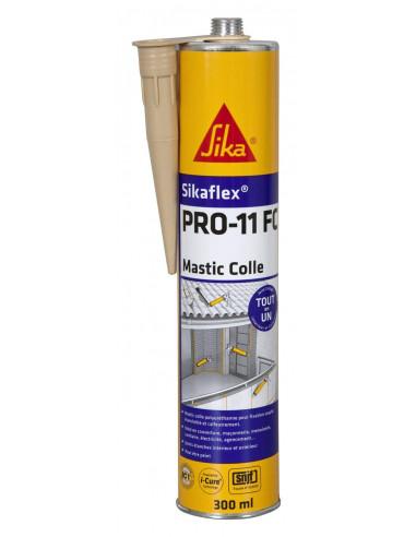 SIKA SIKAFLEX PRO 11 FC Mastic-colle tout en 1 à prise rapide et multi applications -SNJF - 300ml - beige