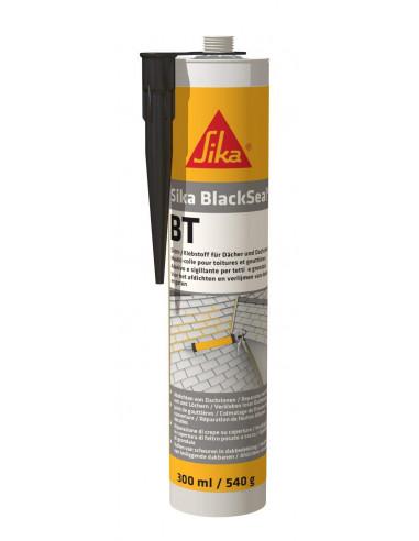 SIKA BLACKSEAL® BT Mastic bitumineux pour raccord d'étanchéité en couverture - 300ml - noir