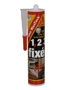 SIKA MAXTACK® Colle de fixation ultra-rapide et ultra-résistante - 400gr