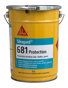 SIKA Sikagard 681 Protection incolore sol béton / dalle / pavés 3L