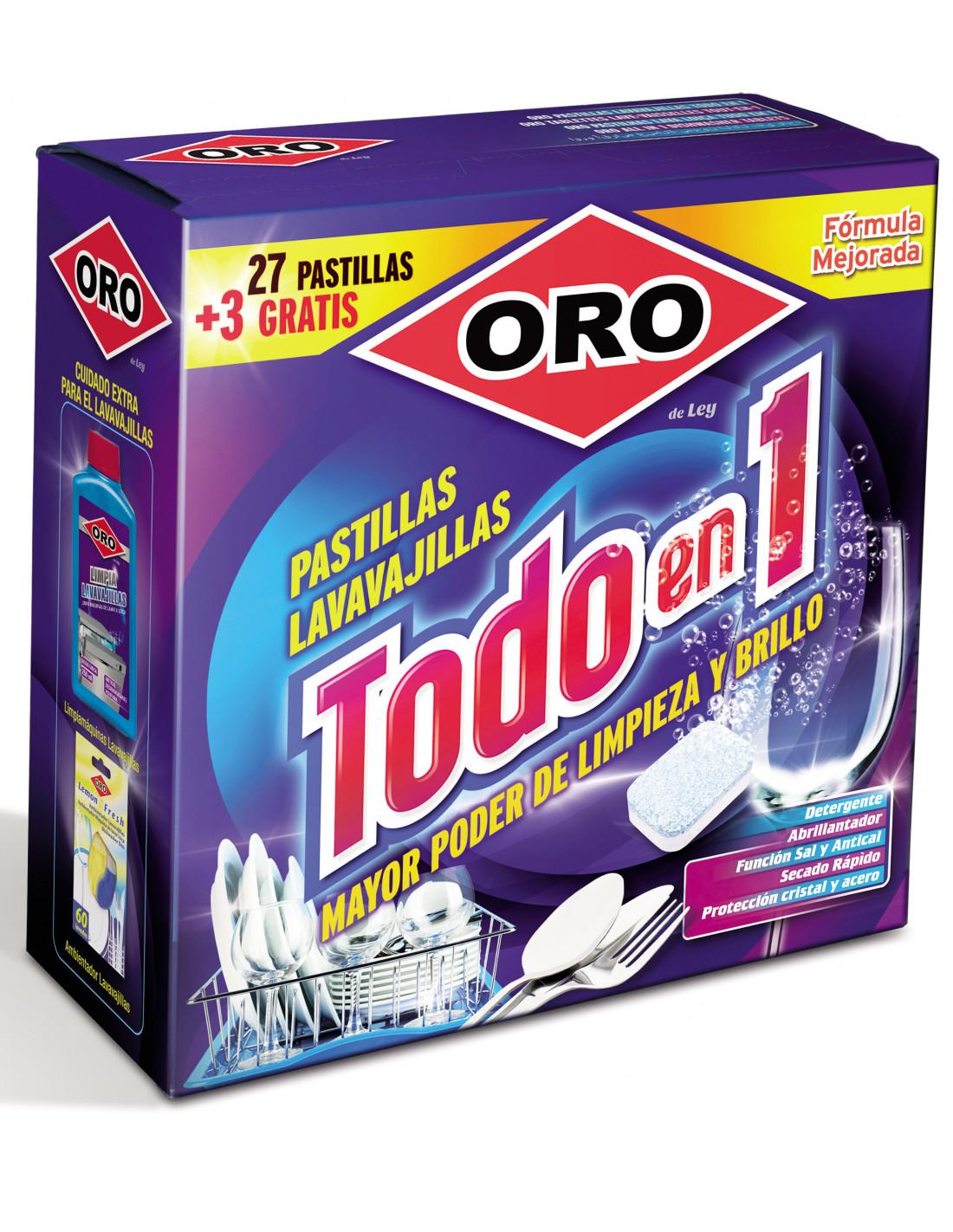 Filtre Piscine Lave Vaisselle oro tablettes lave-vaisselles tout en 1