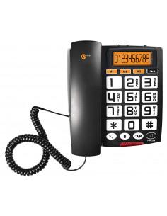 TOPCOM Téléphone fixe filaire Noir TS-6651