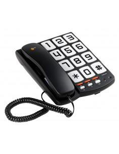 TRISTAR Téléphone fixe à touches géantes Noir TS-6650