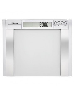 TRISTAR WG-2422 Pèse-personne avec analyse corporelle - Impédancemètre 9 V - Capacité Maximale 200 kg - Précision 100 g