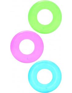 BESTWAY Bouée Transparente Ø 51 cm couleurs assorties