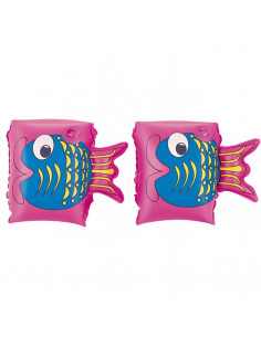 BESTWAY Brassards de natation Friendly Fish 3-6 ans