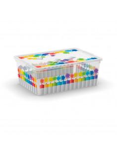 KIS C-BOX STYLE S Colours Arty 26 x 37 x h 14 cm 11L