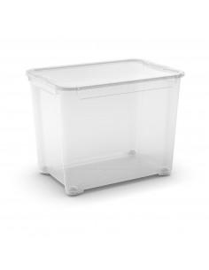 KIS T BOX XL 39 x 55,5 x 42,5 cm 70L Transparent