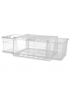 KIS SPIDER DRAWER 4 Transparent 38 x 29 x 12 cm 7L