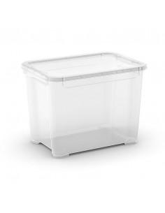 KIS Boîte de rangement plastique T BOX S Transparent 26,5 x 38 x 28,5 cm 20L