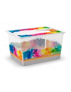 KIS C BOX STYLE XL Colours Arty 38,5 x 55 x 30,5 cm 50L