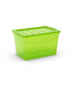 KIS OMNI BOX M Vert Transparent 30 x 47 x 27,5 cm 30L