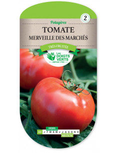 LES DOIGTS VERTS Tomate Merveille des marchés