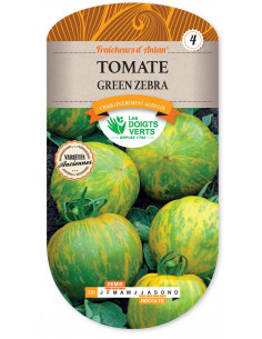 LES DOIGTS VERTS Tomate Green Zebra
