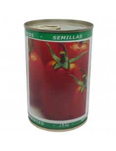 LES DOIGTS VERTS Tomate Roma - Boite métallique 50 gr