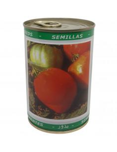 LES DOIGTS VERTS Tomate Coeur de boeuf - Boite Métallique 50 gr