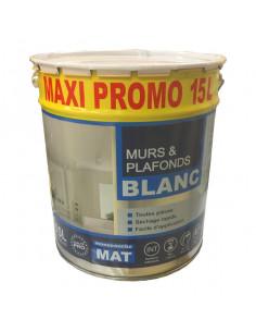 RECA Peinture monocouche murs et plafonds blanc mat 15L
