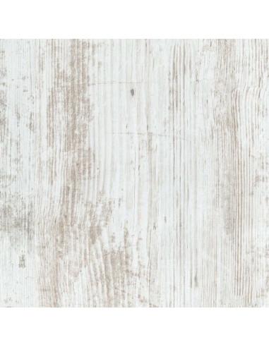 SUPBOIS Tablette d'aménagement mélaminée 18mm avec chants plaqué effet chêne blanchi 30 x 80 cm
