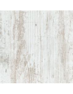 SUPBOIS Tablette d'aménagement mélaminée 18mm avec chants plaqué effet chêne blanchi 120 x 20 cm