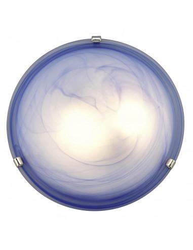 BRILLIANT Applique plafonnier Mauritius bleu