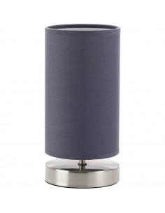 BRILLIANT Lampe à Poser CLARIE  25 cm 1 x 40 W E14 Gris satiné