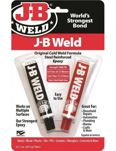JBWELD Tube de colle Original Cold-Weld Formula Steel Reinforced ...