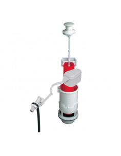 WIRQUIN Mécanisme de wc à tirette + robinet flotteur à levier MX12